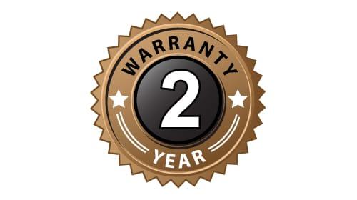 John packer 2 years warranty