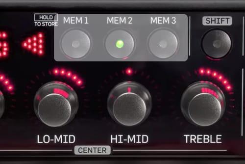 RH750 bass amp head
